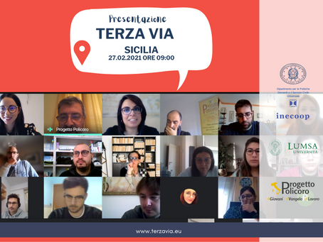 Presentato il progetto Terza Via in Sicilia. Iscrizioni gratuite e aperte fino al 20 marzo 2021