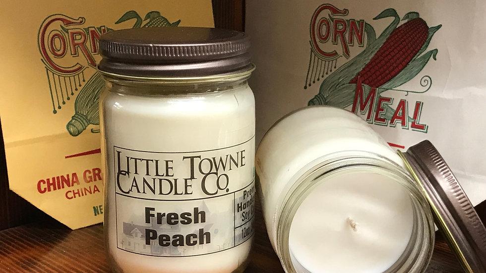 Fresh Peach Candle