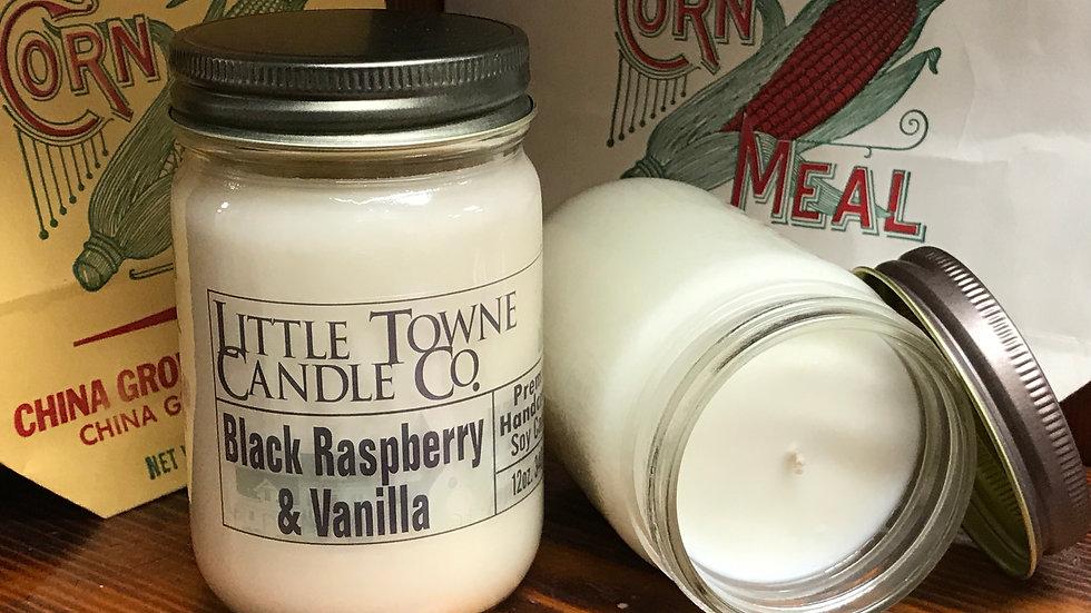 Black Raspberry & Vanilla Candle