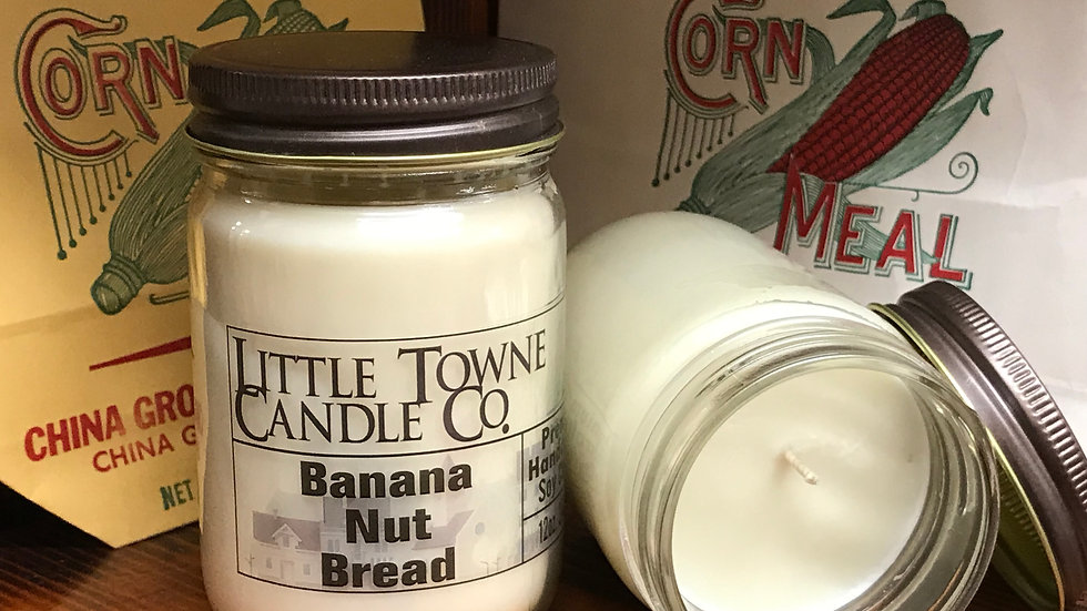 Banana Nut Bread Candle