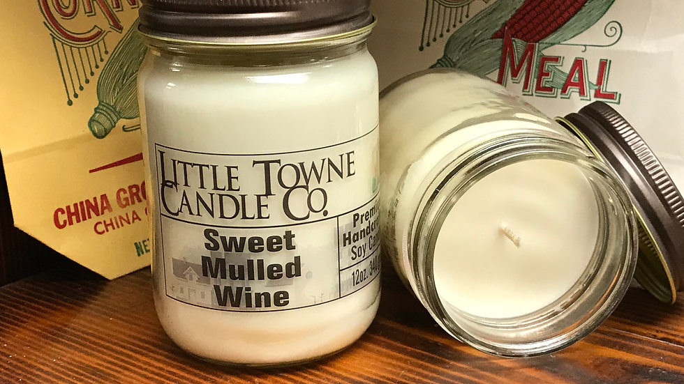 Sweet Mulled Wine Candle