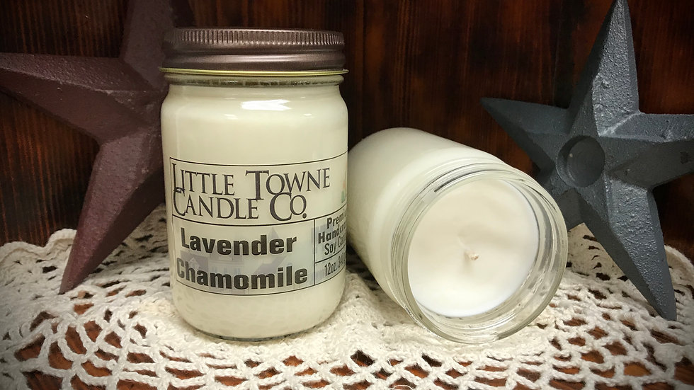 Lavender Chamomile Candle
