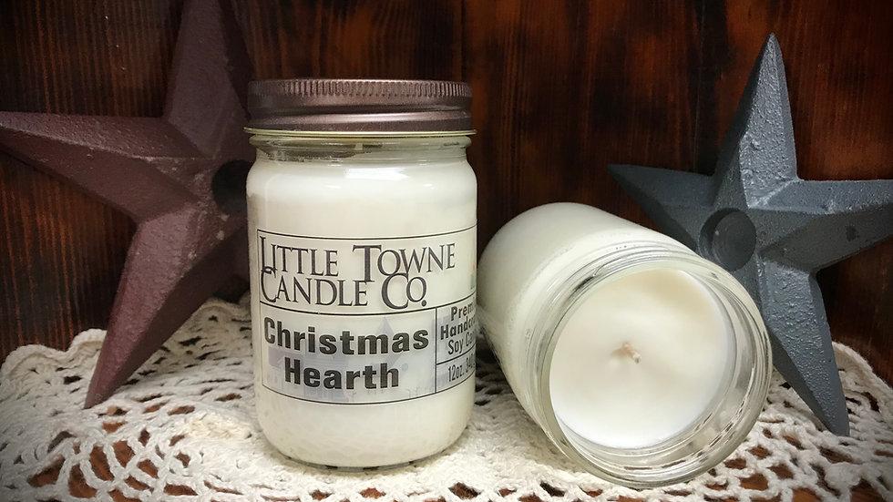 Christmas Hearth Candle