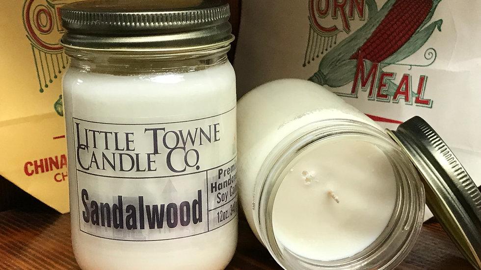 Sandalwood Candle