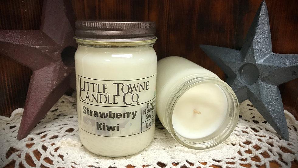 Strawberry Kiwi Candle