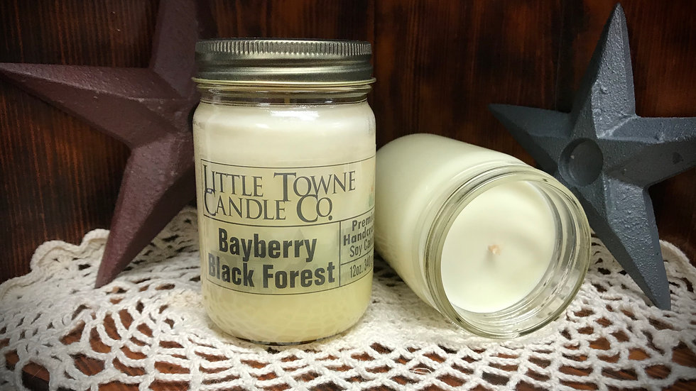 Bayberry Black Forest Candle