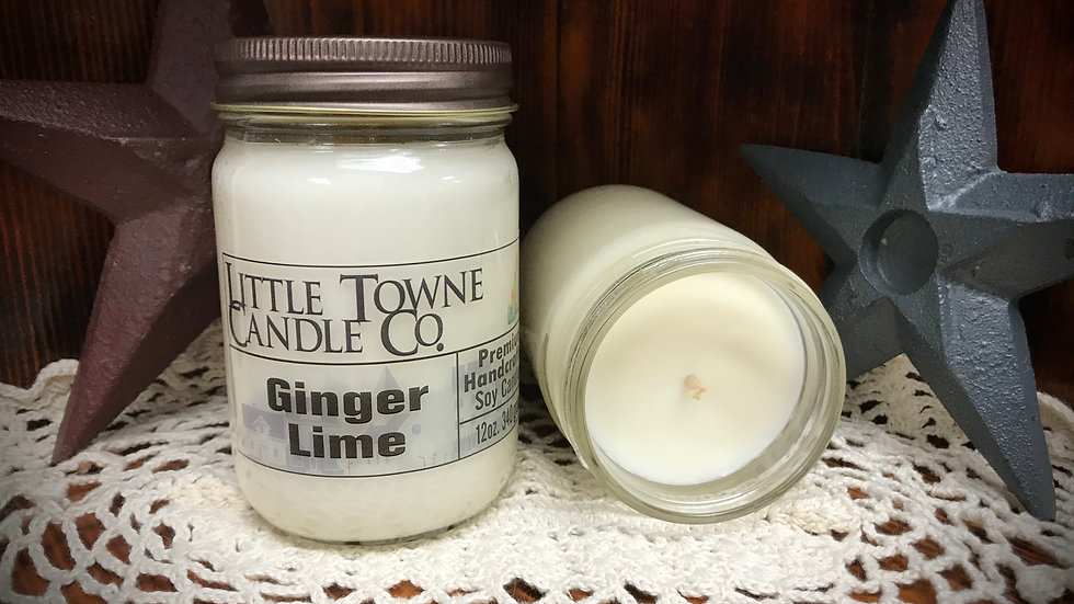 Ginger Lime Candle