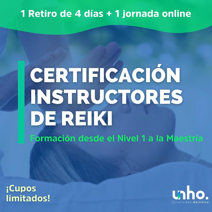 Certificación Instructores de Reiki