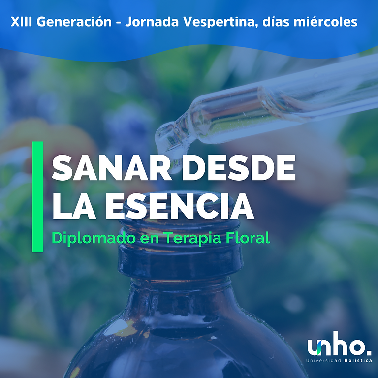 Diplomado en Terapia Floral - Versión Vespertina