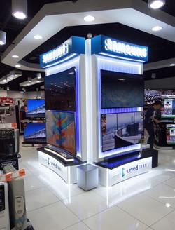 Shop Front - SamSung TV Display 2015 Fins Design Booth_01