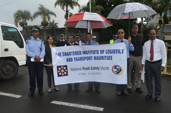 WiLAT Mauritius participates in Road Safety Campaign
