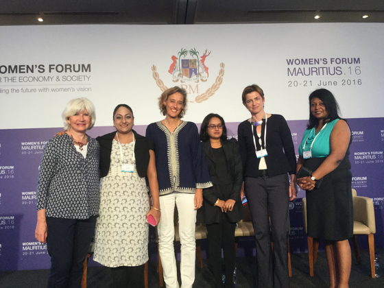 WiLAT Mauritius marks its presence in the International Women Forum