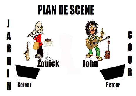 Le plan de scène Manbouss
