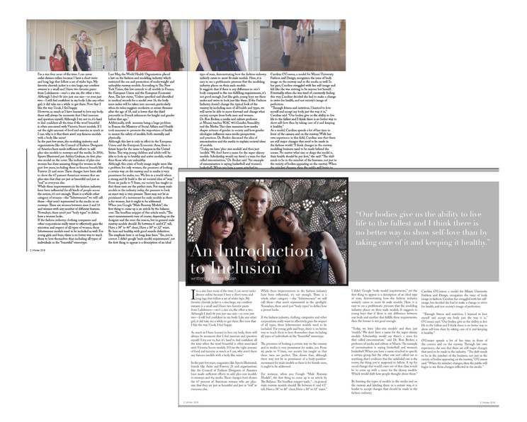 An Introduction to Inclusion: Drafted Layouts