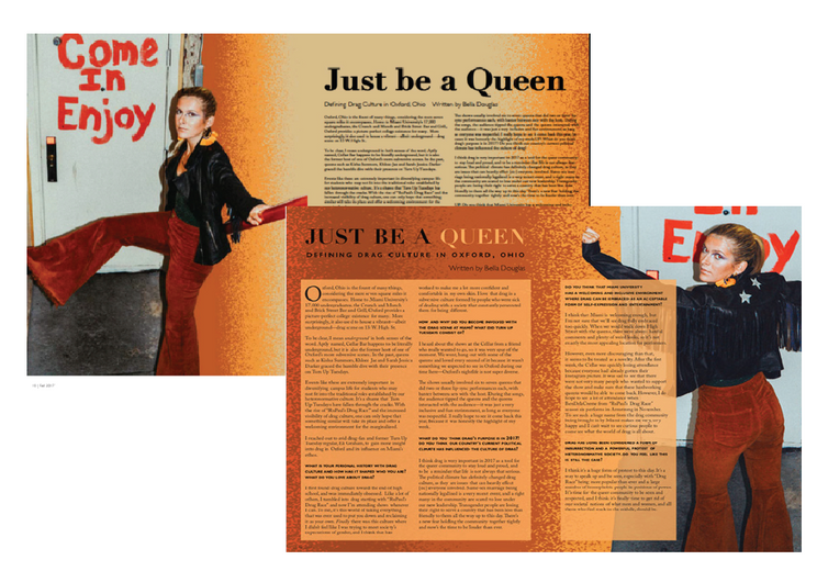 Just Be a Queen: Drafted Layouts