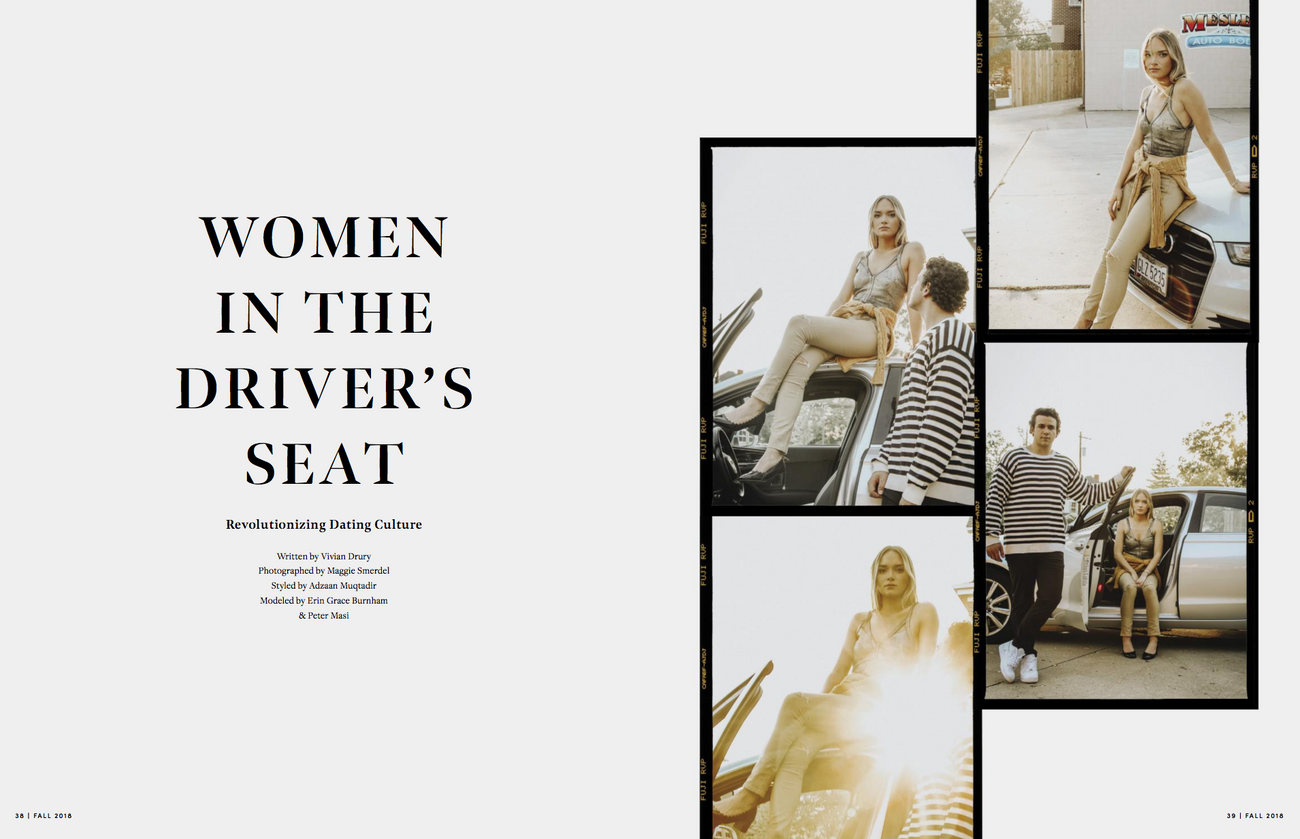 UP Magazine Fall 2018 Issue: Women in the Driver's Seat