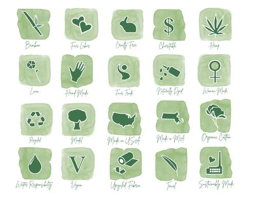 Merchandise Descriptor Icons