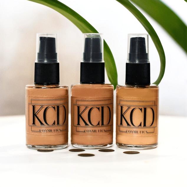 KCD Cosmetics Logo Design