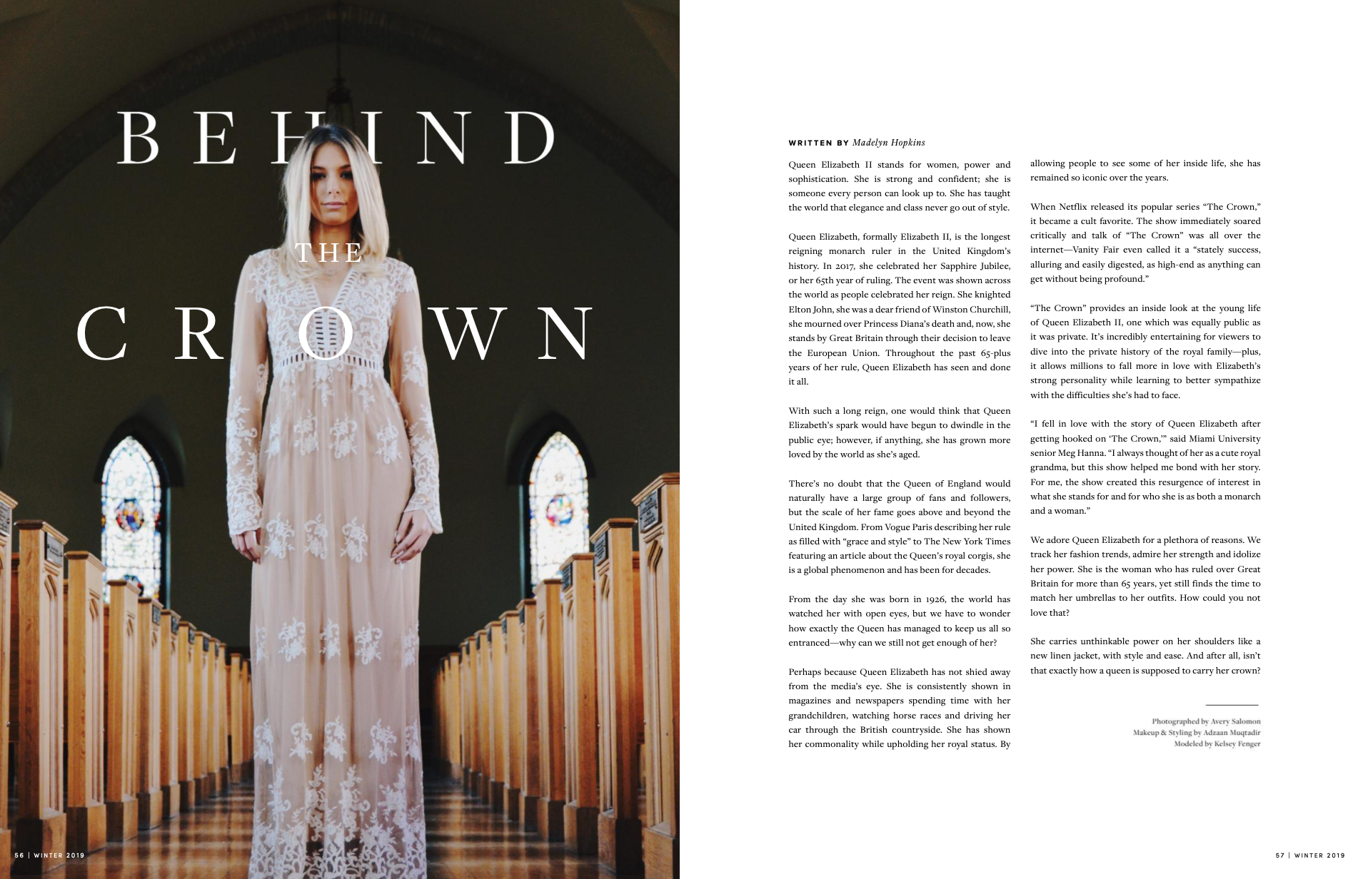 UP Magazine Winter 2018 Issue: Behind the Crown
