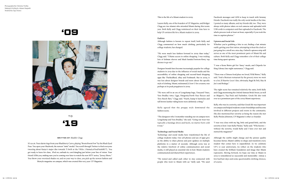 UP Magazine Spring 2019 Issue: '09 to '19