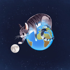 Space Kitty 1