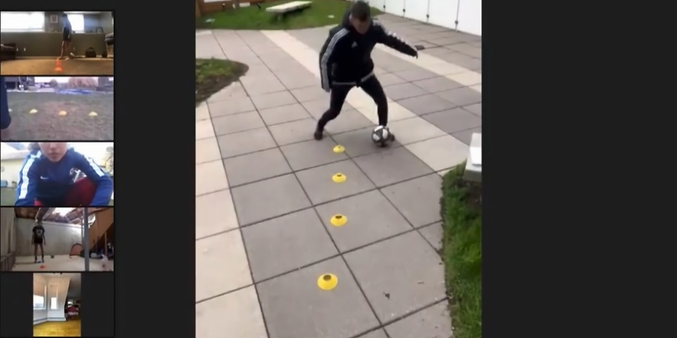 Technical Ball Work - Under 13 years old - $10