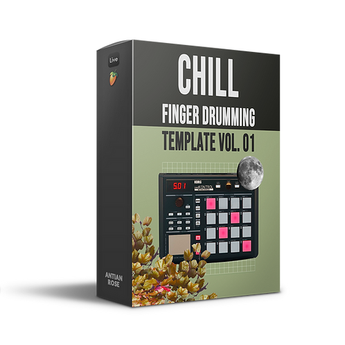 """Finger Drumming Template Ableton & FL Vol. 01 """"Chill"""" by Antian Rose"""