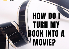How to Turn Your Book Into a Screenplay