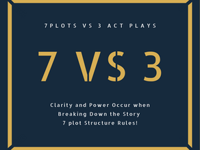 Seven Plot Structures. What is it, and how different is it from a Three-Act Play?