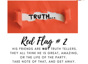 Red Flag, Lack of Truth Tellers Can Lead to Abuse