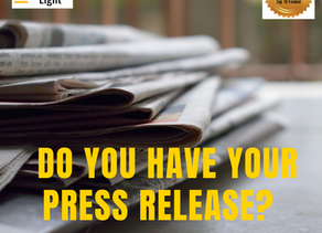 Do you Have your Press Release?