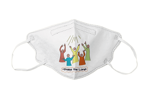 Hands to God Graphic Mask