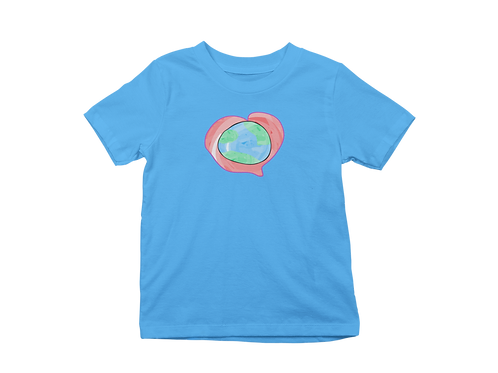Heartbeat of the World Graphic T-shirt