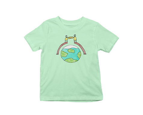 Education Peace Graphic T-Shirt