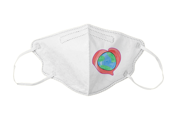 Heartbeat of the World Graphic Mask