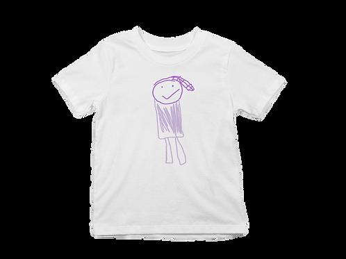 Purple Patty Graphic T-shirt