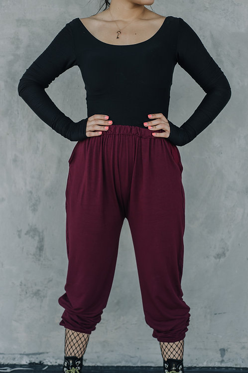 Marionette Pants in Wine
