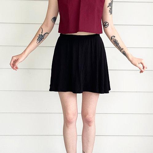 Flowey Staple Skirt in Black