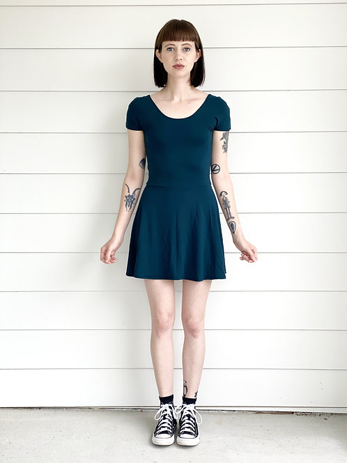 SS Staple Dress in Teal