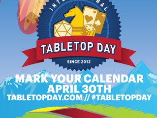 Tabletop Day is Coming!