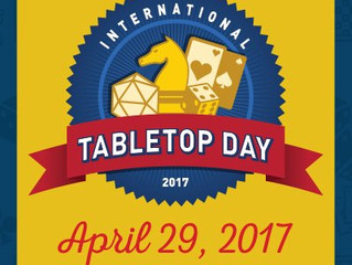 Tabletop Day 2017!