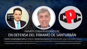Hoy, conversatorio CPC en defensa del páramo de Santurbán