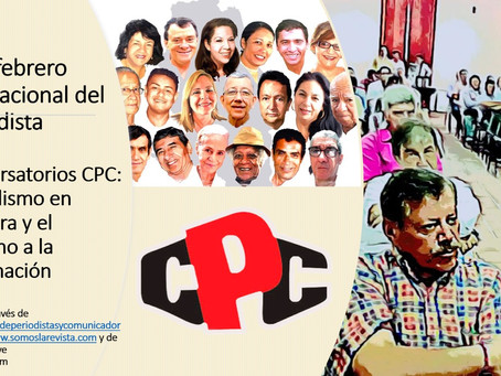 Conversatorio CPC sobre periodismo en frontera, este 9 de febrero