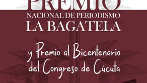 Premio Nacional de Periodismo ´La Bagatela´