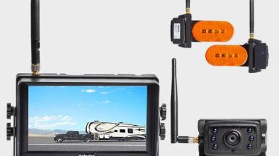 Haloviewバックアップカメラ、サイドビューカメラ、モニター付き(送料込み)