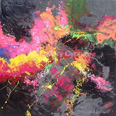AE 100x100cm Abstract Painting Kopyası