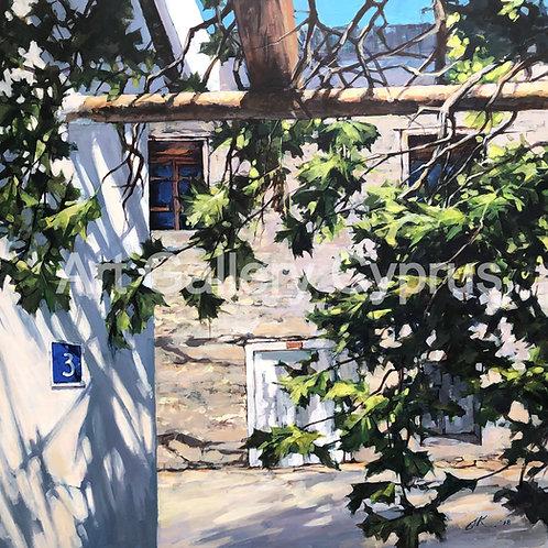 ES  Asma Talvar 113x115cm Painting