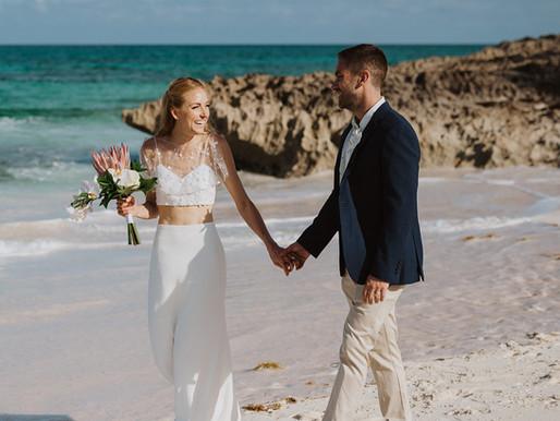 Emily & Adam   Abaco Inn Wedding   Bahamas Wedding Planner