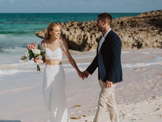 Emily & Adam | Abaco Inn Wedding | Bahamas Wedding Planner
