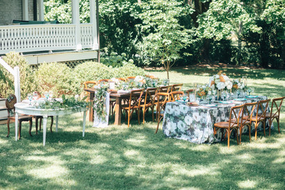 Market at Grelen Wedding